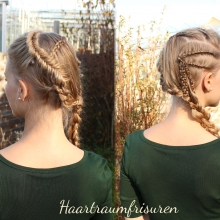 Lagertha inspired hair