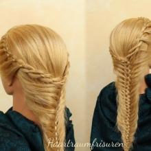 Woven Fishtail Braid