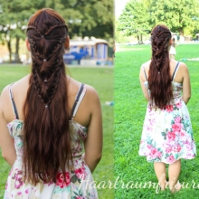 Cascading Arrow Braid