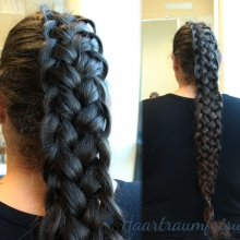 French Loop Braid