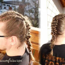 Ragnar inspired hair