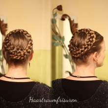 Five Strand Crown Braid