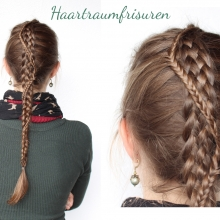 Five Strand Braid with Fishtail Accent