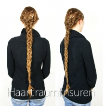 Fishtail Five Strand Braid