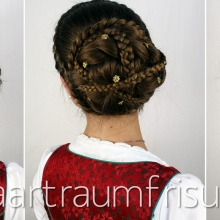 Hairstyle for the Oktoberfest