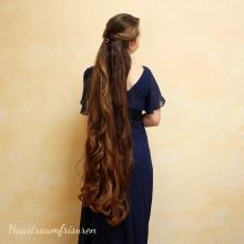 Curly Half Up