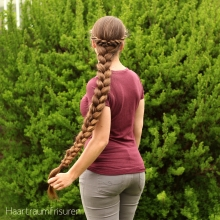 English Braid with Rope Accents