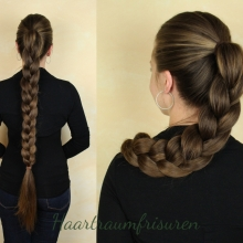 Pancaked English Braid