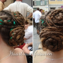 Mixed Braids with Ribbon