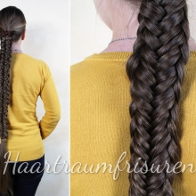 Twisted Edge Fishtail Braid