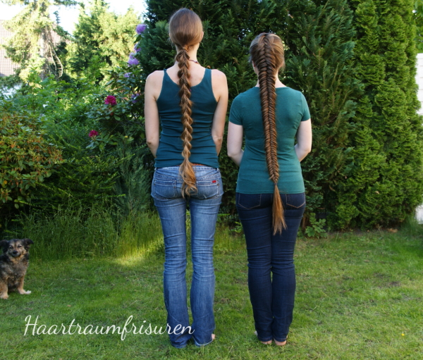 Dragon Tail Braid and Dutch Fishtailbraid