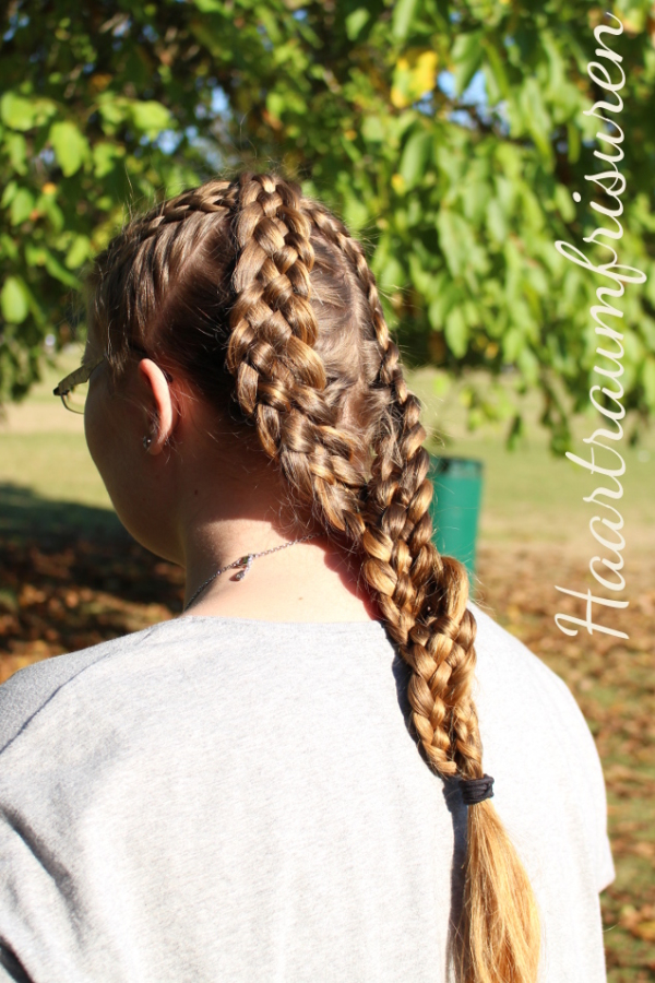 Fünfer x to o Braids