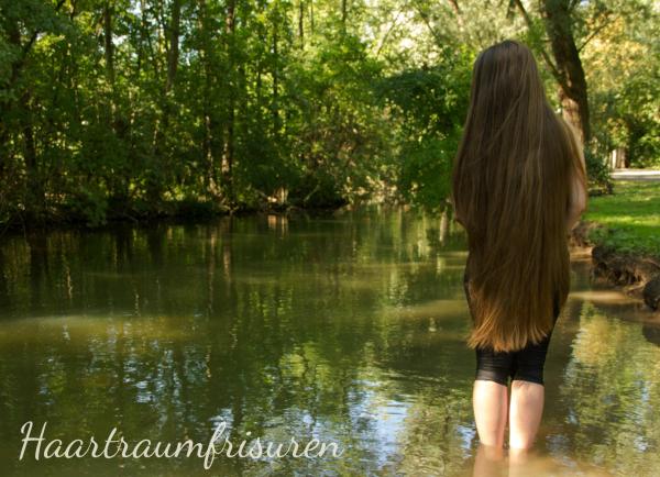 Längenbild im Wasser