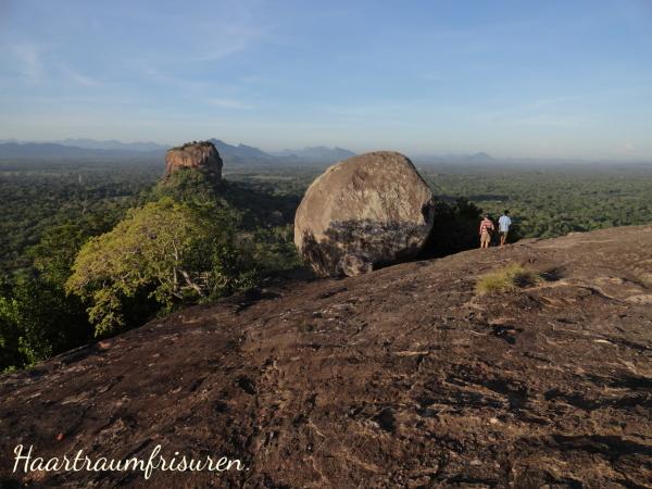 Blick auf den Lion's Rock