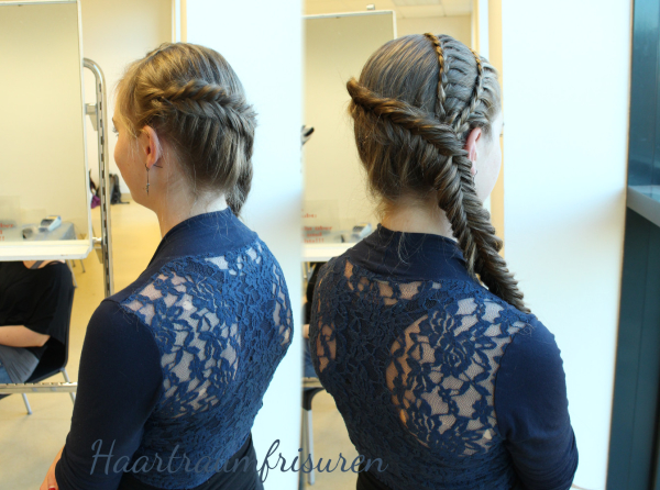 Dutch Fishtailbraid with Laca Accents
