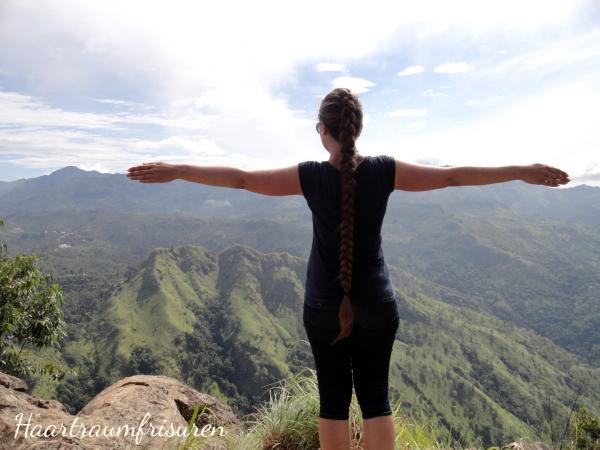 Blick vom Ella's Rock auf den Little Adams Peak