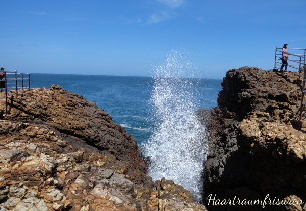 Das Blow Hole bei Tangalle