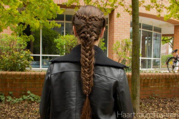 Woven Fishtail with English braided accents