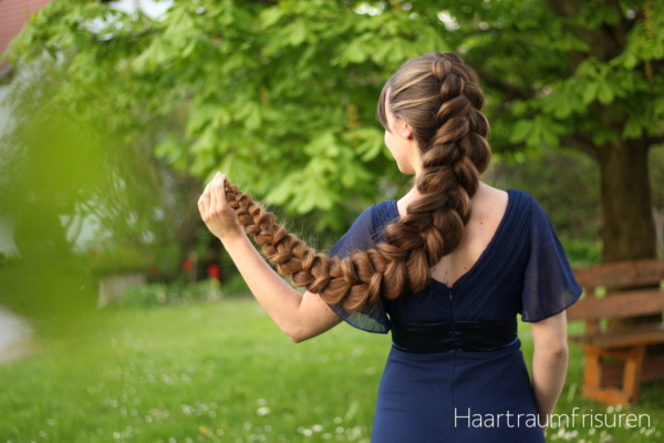 Pancaked Dutch Braid