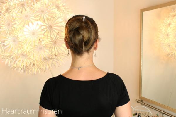 Nessa Bun with Senza Limiti Hair Stick