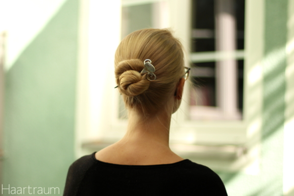 Bun with Senza Limiti hairstick